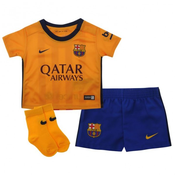 hot sales 56260 8a347 Barcelona 2015-2016 Away Baby Kit