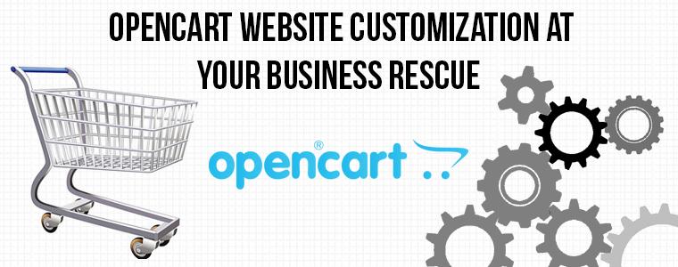 OpenCart Website Customization