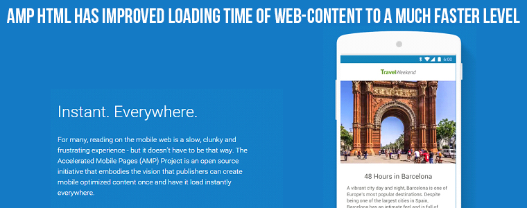 Arrrival of Google Accelerated Mobile Pages HTML (AMP HTML) | velsof