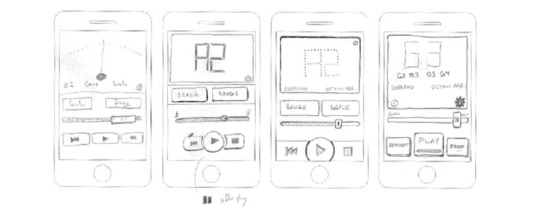 Create a rough development design for your mobile app | Velsof