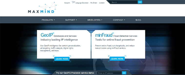 Presence of MaxMind Fraud Detection System for security | velsof