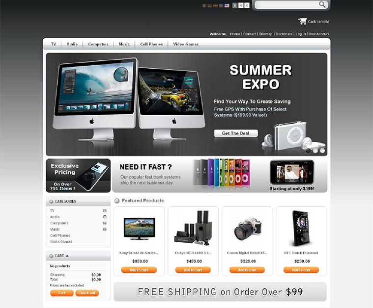 Prestashop Template Development Services | Velsof