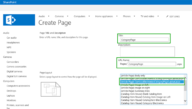 SharePoint 2013 development- An introduction of Page layout | Velsof
