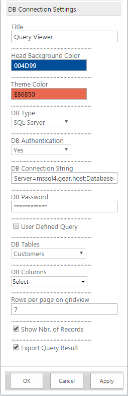 USP of this Query Viewer Basic SharePoint web part