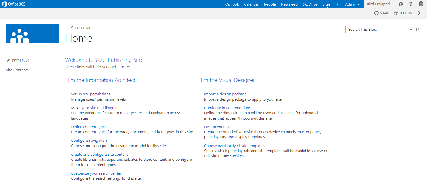 Design Manager in SharePoint master page customization | Velsof