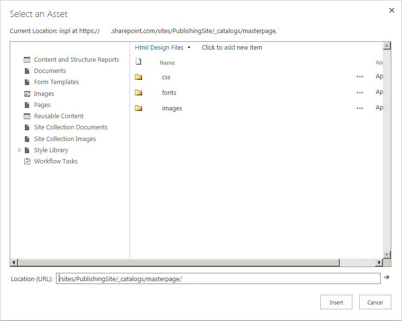 Upload your HTML file in Sharepoint   Velsof