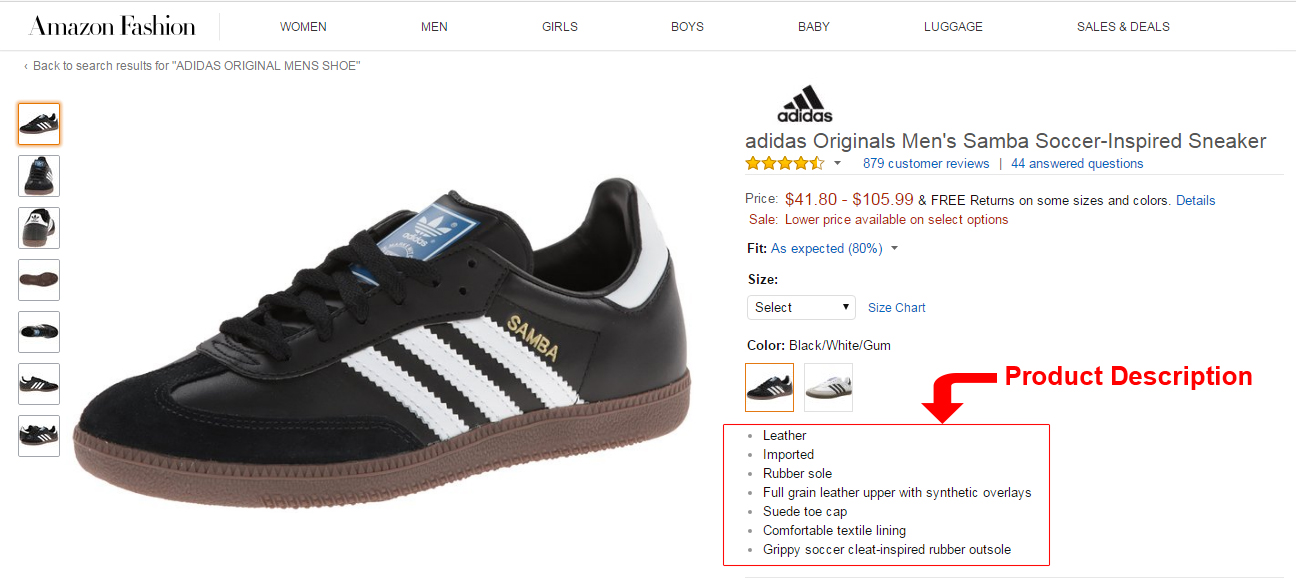SEO errors to avoid in your eCommerce sites- Absence of product description | Velsof