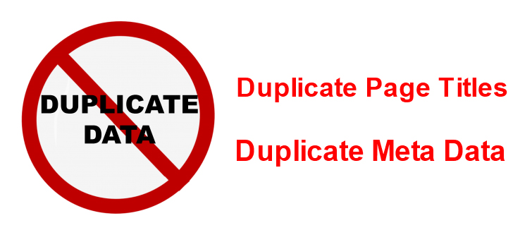 SEO errors to avoid in your eCommerce sites- Duplicate page titles and meta data | Velsof