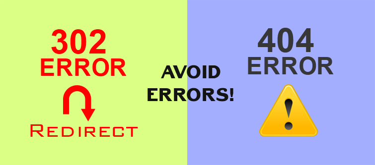 SEO errors to avoid in your eCommerce sites- Presence of site redirects and 404 errors | Velsof
