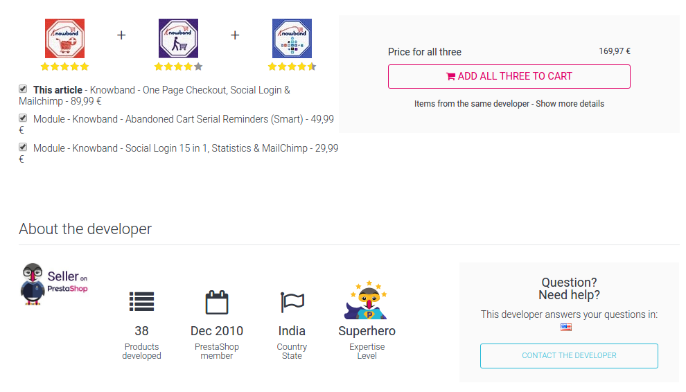 Find the best PrestaShop modules and PrestaShop development company?- You will get the best customer support | Velsof