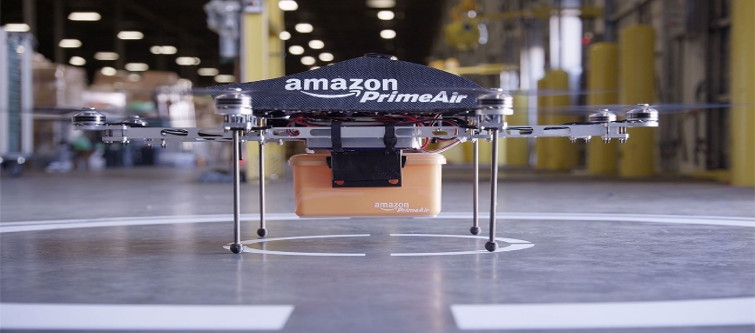 Amazon ready to ship your ordered product with its drone delivery | Velsof