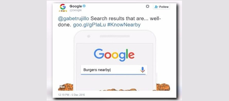Google brings out emoji feature which helps improvise local search results- KnowNearby feature in google emoji result   Velsof