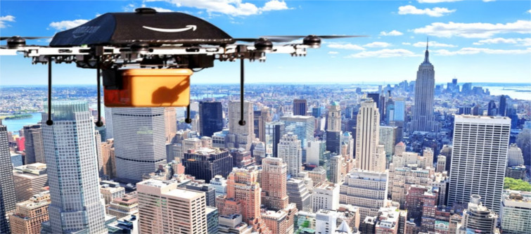 Why is Drone delivery services the future of shipping services? | Velsof