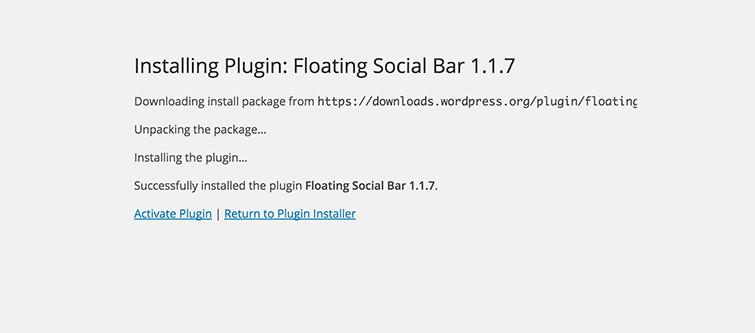 Wordpress Plugin Installation Process- Actvation | Velsof