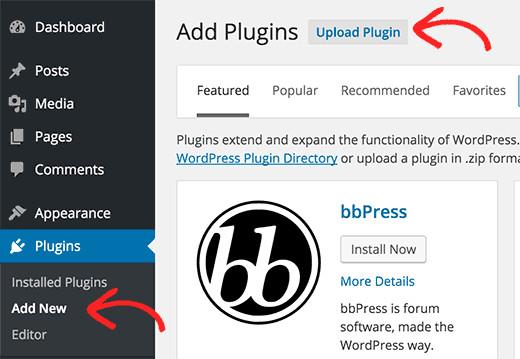 Other methods of Installation at glance- Installation through WordPress admin plugin upload | Velsof
