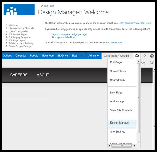 How to create a new master page in SharePoint 2013?- Mapping master page directory | Velsof