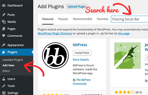 Wordpress Plugin Installation Process- Search plugin | Velsof