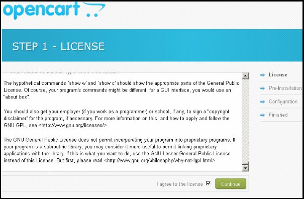 How to install OpenCart on Linux localhost?- Upload and continue | Velsof