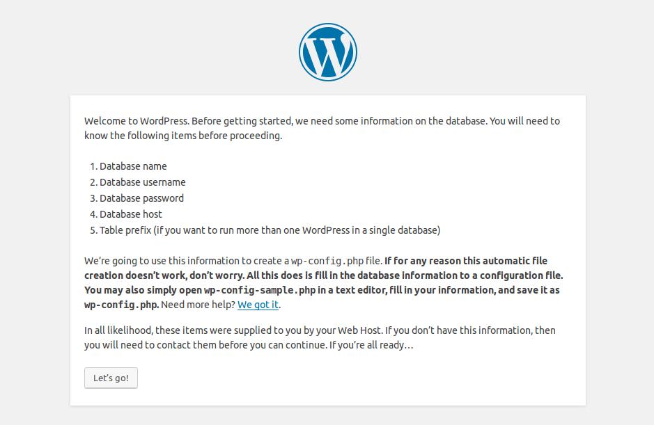 How to Install WordPress latest module on Ubuntu?- Database Creation   Velsof