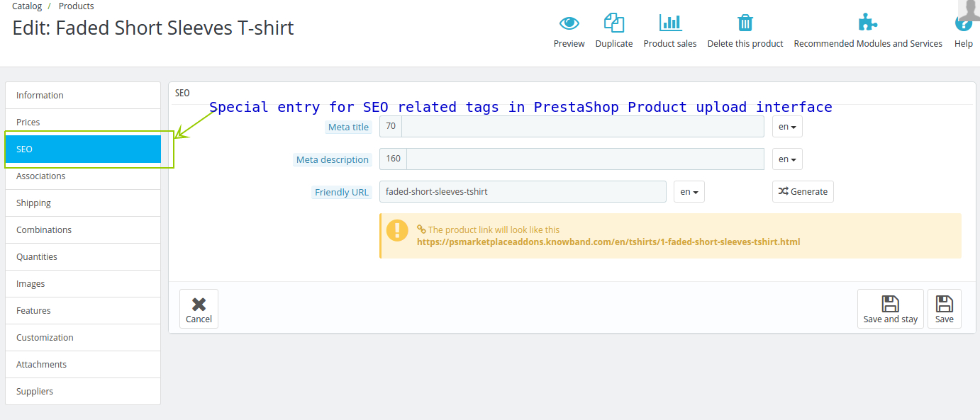 Prestashop Website Development Services for an online store- is it a smart choice?- Include Meta tags to products | Velsof