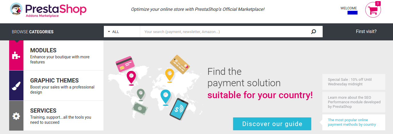 Prestashop Website Development Services for an online store- is it a smart choice?- PrestaShop official marketplace | Velsof