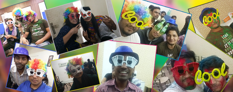 Holi celebration at Velocity- Fun with goggles, colorful wigs, and masks-1 | Velsof