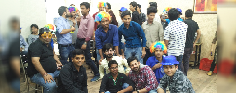 Holi celebration at Velocity- Fun with goggles, colorful wigs, and masks-2 | Velsof