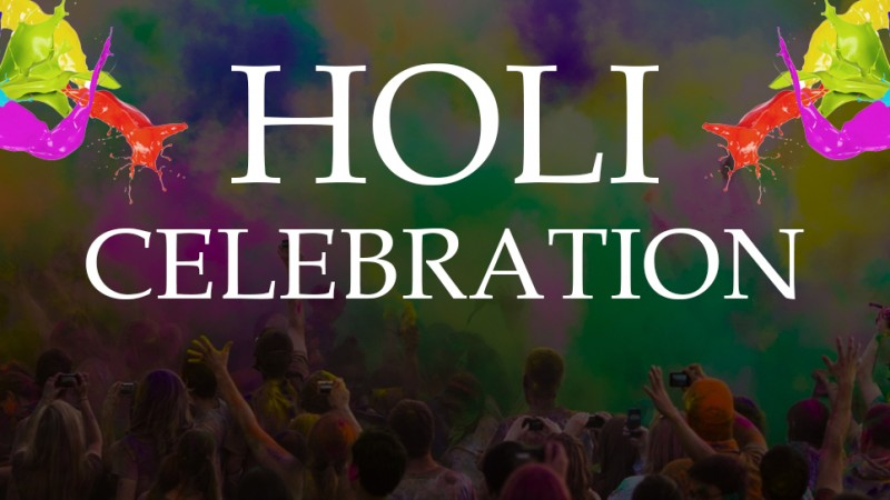 Holi celebration at Velocity | Velsof