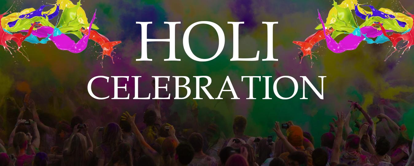 Holi celebration at Velocity | Velsof