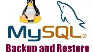 MySQL backup or restore