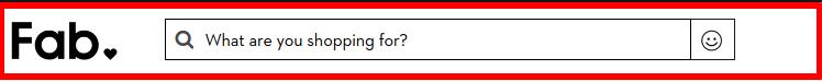 Fab Website Search Box