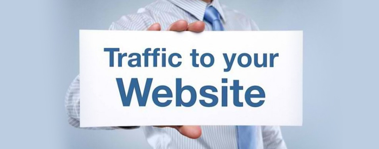 How can you get traffic on your new website?