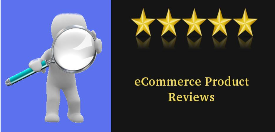 eCommerce product reviews