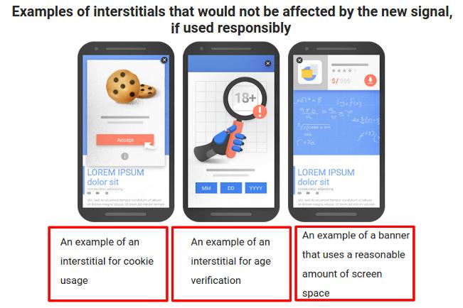 image of interstitials and pop-ups
