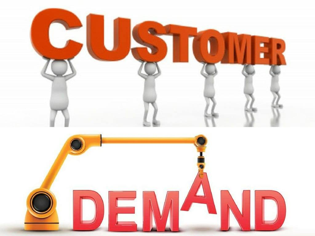 Image result for customer demand
