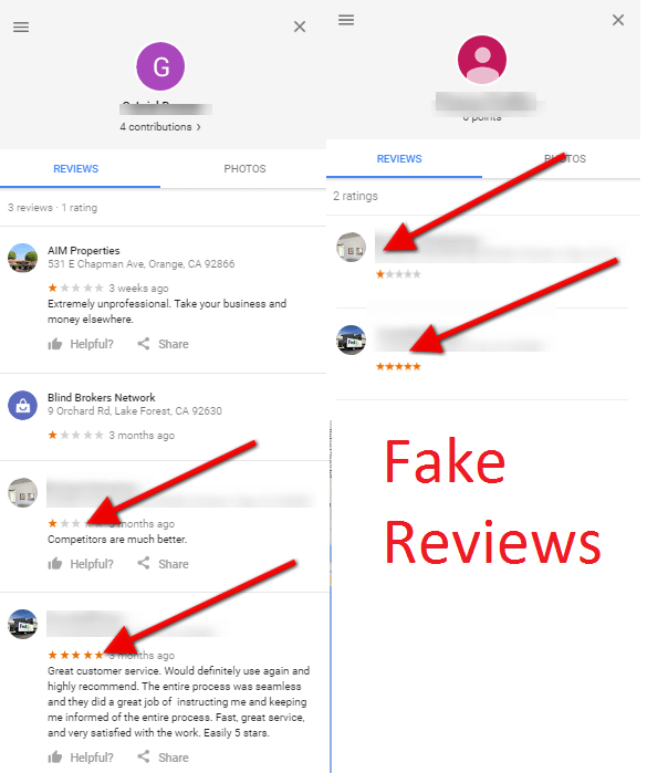 Fake Review